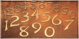 mix of door numbers