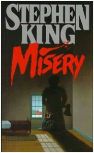 cover of book misery